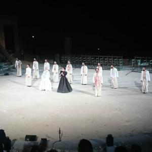 古代ギリシャ悲劇を観劇(●´ω`●)