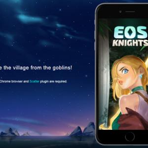 DApps Game EOS Knightsを始めよう!