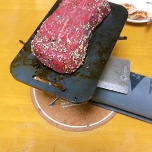 B6鉄板で焼肉💕
