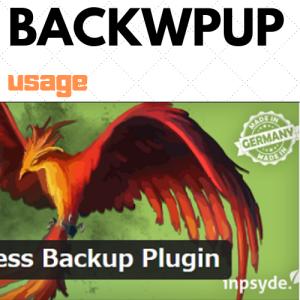 BackWPupの設定方法・使い方を初心者さん向けに画像付きで分かりやすく解説!