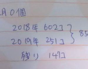 1000個捨てチャレンジ 3月分報告 31個