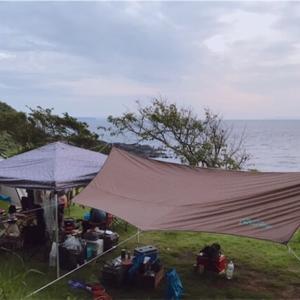 【キャンプ】佐賀県 波戸岬キャンプ場 2019/08/24  (その1)