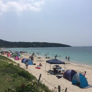 【海水浴】山口県 土井ヶ浜海水浴場、GABBIANO、ZERO CAFE