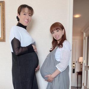 おめでた同期の北翔海莉と仙堂花歩、インスタグラムで大きなお腹を披露