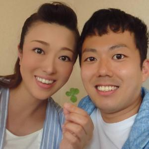 北翔海莉と藤山扇治郎の幸せそうな笑顔に癒やされる