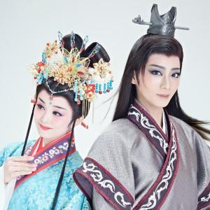星組東京公演「眩耀の谷」の初日映像で礼真琴の大羽根を見る
