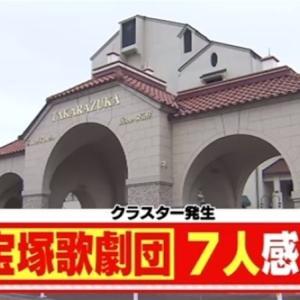 コロナ衝撃:クラスター発生で花組「当面公演中止」そして東京の星組にも感染者が