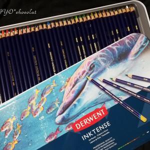 ダーウェントの水彩色鉛筆
