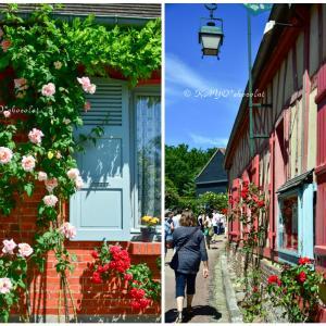 バラの村、ジェルブロワのバラ祭り!
