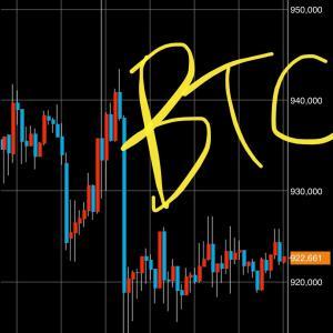 ビットコインはいまだに停滞中(´-`).。oO