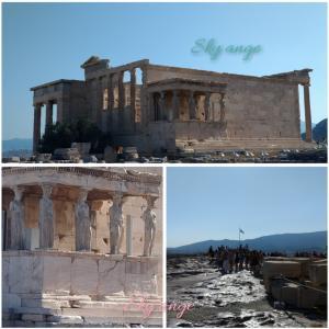 ✈️パルテノン神殿✨ アクロポリスの丘✈️