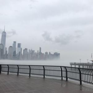✈︎霧に包まれたニューヨークの風景✈︎