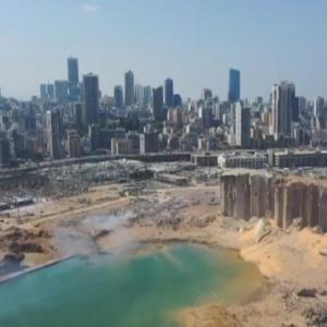 レバノンの大爆発事故で最大30万人に被害!穀物サイロと港が崩壊、ゴーン氏の家も損傷と報告!被害総額3000億超