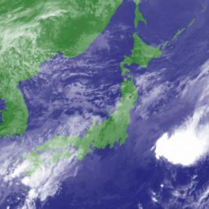 台風12号の影響で気温急低下、東京は10月中旬並みの水準に!北風の強まりで体感温度は寒く