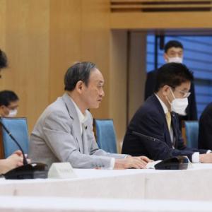 【速報】原則自宅療養、菅義偉首相が「撤回しない」と表明!感染者数は過去最多1万4207人