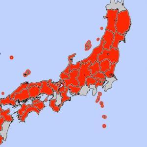 【注意】最高気温40℃の予想も!気象庁が日本列島各地に高温注意情報!熱中症に厳重な警戒を