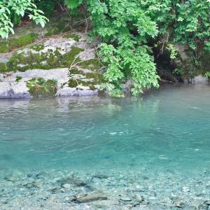 川遊びスポット やはた温泉