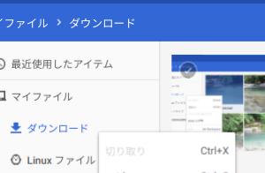 Cloudready で Linux アプリとファイル共有