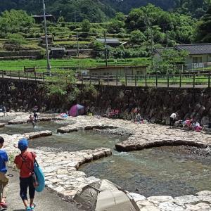 川遊びスポット 猪谷川水辺公園