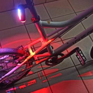 ルイガノ LGS-MV1 中華ライト取付