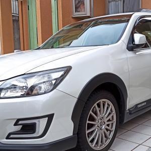 スバル エクシーガクロスオーバー7 タイヤ交換