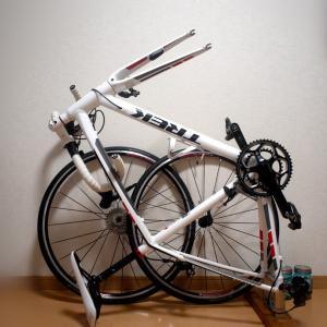 ロードバイクを部屋でコンパクトに保管する方法