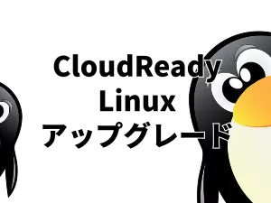 CloudReady(ChromeOS) linux のバーションアップグレード