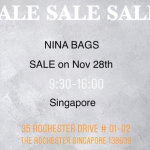 ★11/28(木) SALE SALE SALE in Singapore