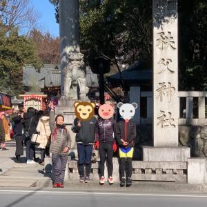 日の出ヒルクライマーズと秩父神社