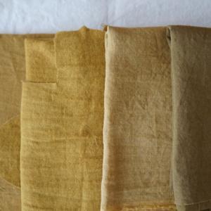 色々なカラシと10/16のハンドメイドリネン服の制作