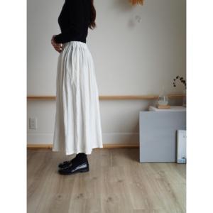 NEW ☆冬ごもりのリネンスカート
