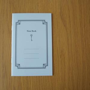 無印良品の来年の手帳と新しく購入したノート
