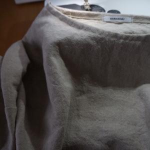 2/26のハンドメイドナチュラル服の制作。