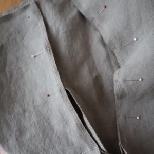 7/13のハンドメイドナチュラル服の制作。