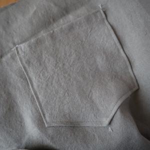 11/24のハンドメイドナチュラル服の制作。