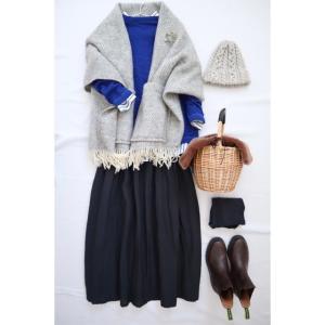 こだわりリネンのkurasimuスカートでナチュラル服コーデ