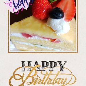 母の誕生日☆☆