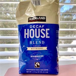 3ヶ月飲み続けてるディカフェコーヒー『コストコのハウスブレンドbyスターバックス』