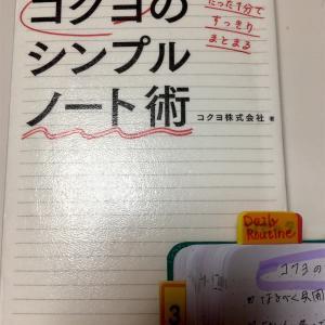 ノートの使い方が100通りも書いてある!「コクヨのシンプルノート術」 を読みました