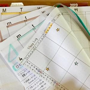 習慣化が成功した行動を見開きページで集中管理する実験3ヶ月目(バレットジャーナル式の書き方)