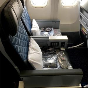 デルタ航空『デルタ・プレミアムセレクト』を利用した感想。良かった点と残念だったこと