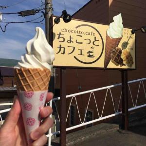 ソフトクリーム タピオカドリンクも!ちょこっとカフェ 【小樽】