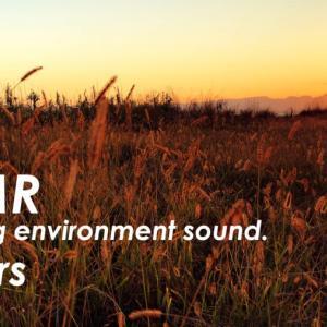ASMR | 睡眠 | 秋の夕暮れと風の音 | 3時間 | environment sound