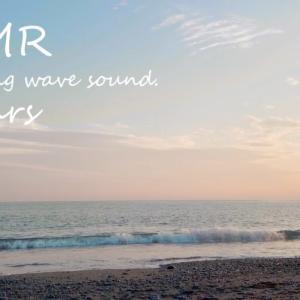ASMR 睡眠 | 眠れる波の音を聴きながら長閑な浜辺で過ごす時間 | 3時間 | wave sound