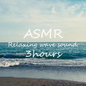 ASMR 睡眠 | 波の音で眠りたい人へ | 3時間 | wave sound