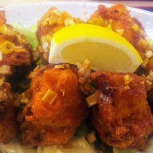 【おかあさん】糸満のお食事処でさっぱり美味しい油淋鶏定食を食べた話