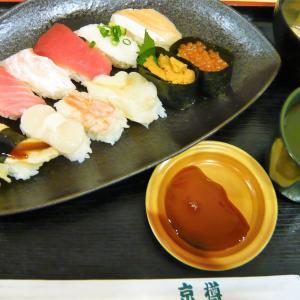 所沢・航空公園駅 構内【京樽】イートインで寿司ランチ!