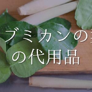 【コブミカンの葉の代用品 3選】代わりになるものはコレ!!おすすめ代替品を紹介!
