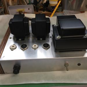 真空管アンプ EL84 – 6BQ5シングルアンプの製作