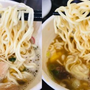 【2個同時実食】日清食品 こだわり具材の彩 中華そば&味噌の感想【デブ活317日目】